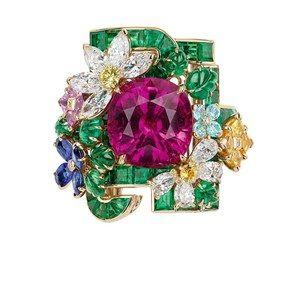 「ディオール」ヴェルサイユ宮殿の庭園が着想のハイジュエリー、瑞々しい草花をダイヤモンドやエメラルドで - 画像45