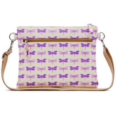 Pink Lining Τσαντάκι Αλλαγής Mum On The Run - Purple Dragonflies - Sunnyside προσφορα