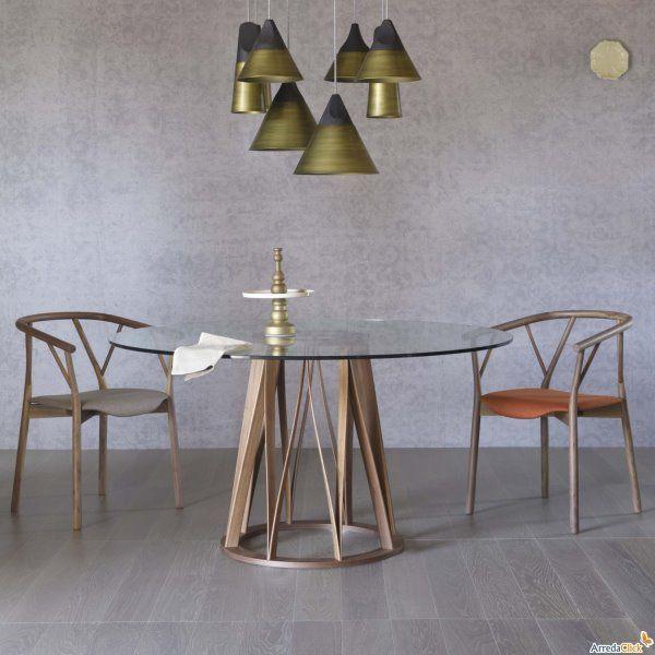Tavolo gamba centrale acco idee industrial tavolo for Idee tavoli da pranzo