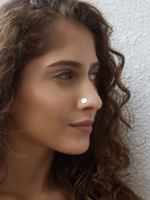Silver Classic Nose Pin Nose Jewelry Nose Ring Jewelry Gold