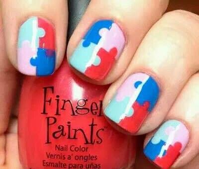 Puzzle nails ❗