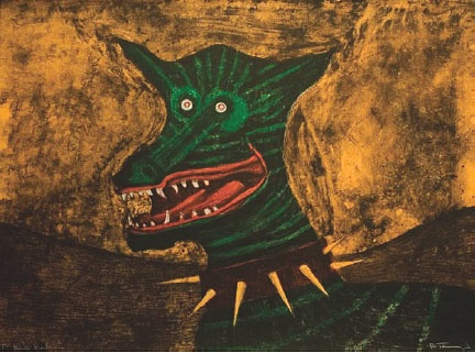Wild Dog  Rufino Tamayo,  Lithograph / color