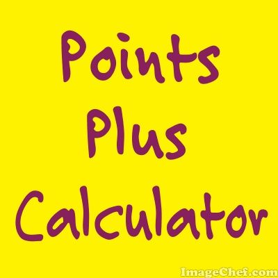 online points plus calculator for WW