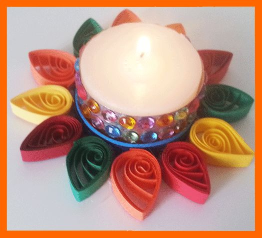 candle decoration craft for school competition