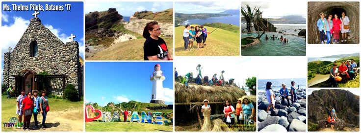 Ms. Thelma Pilola, Batanes Getaway 2017  #Batanes #Sabtang #wheninBatanes #Travel #Travbest #TraveLovers #TravbestAdventures #Tourism #Packages #Tours #Vacation #ItsMoreFuninthePhilippines #ChoosePhilippines #Asia #AsianPackages #Phillippines #TravelPh #LakbayPilipinas #Summer #Tourist #Holidays #Traveling #Adventure #SatisfiedClient #TravelGoals #TravelAsia #ExploreAsia #Traveler #TravelDiaries #BeautifulDestinations #naturelovers #nature