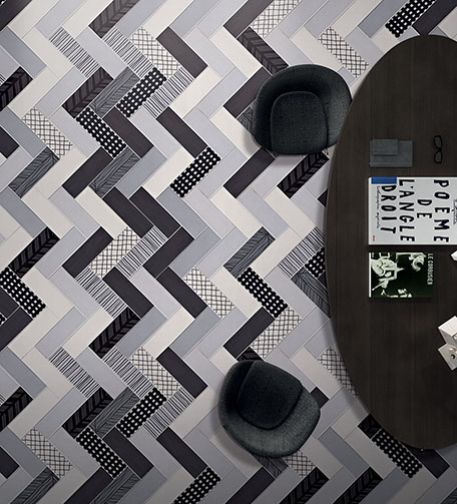 MIX & MATCH_#tiles #shapes #patterns @Interior Design Show | Jan 23-26, 2014