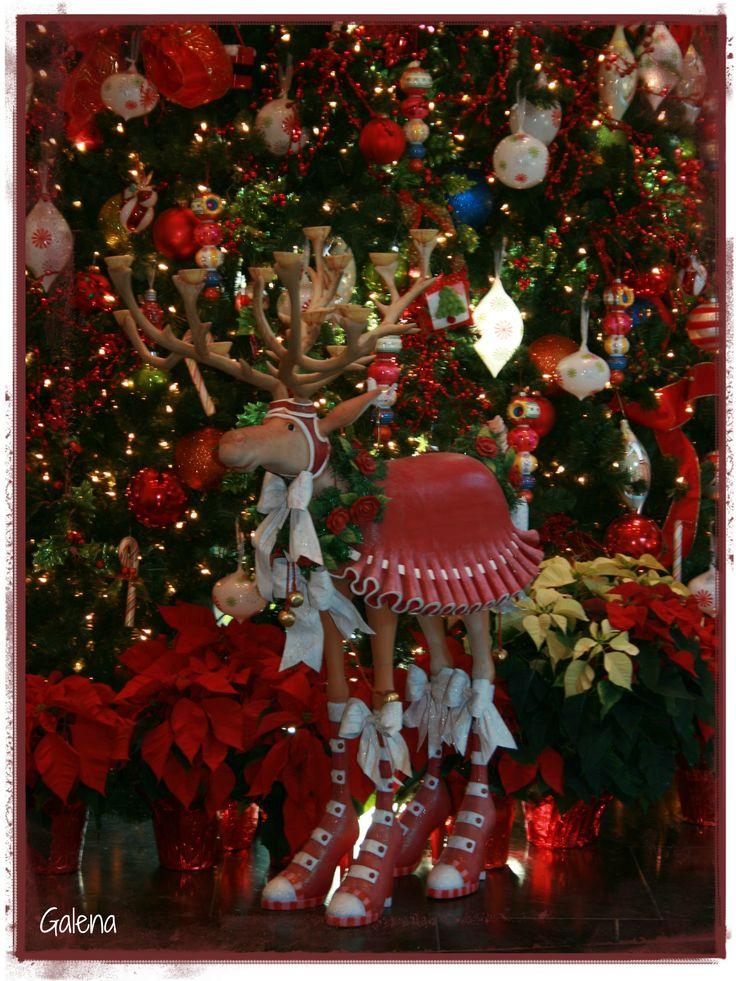 La venadita de navidad. / Arbol navideño / Christmas decorations / Christmas tree