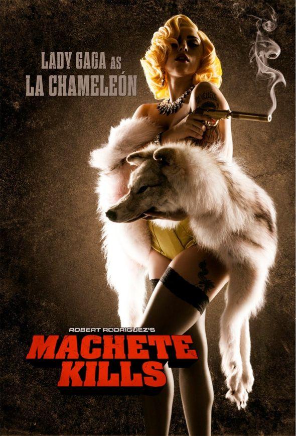 Machete Kills - Lady Gaga Character Poster