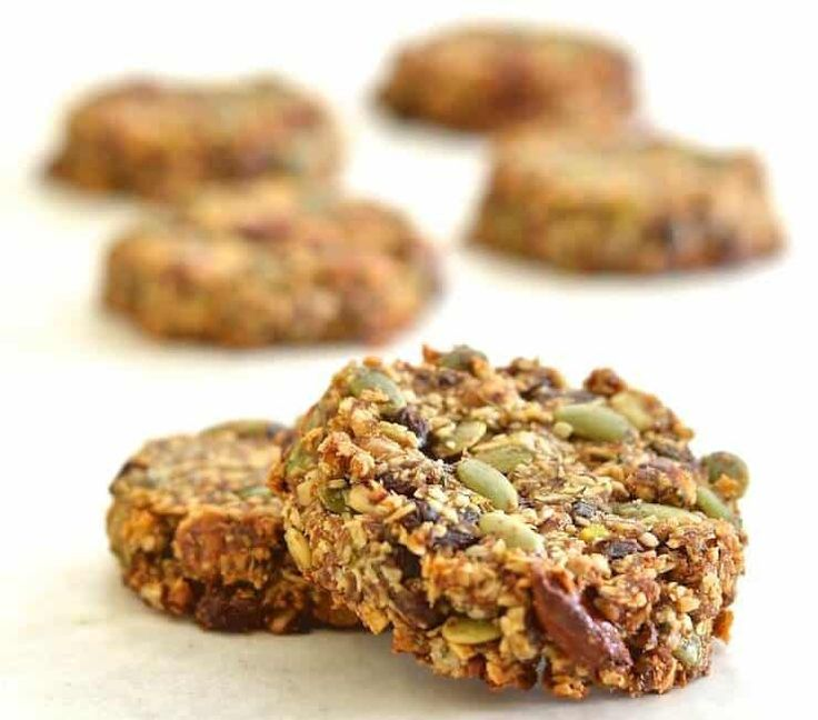 These Super Seedy Power Cookies are super seedy, super nutty & super healthy. They are naturally sweetened, vegan, paleo & grain-free.
