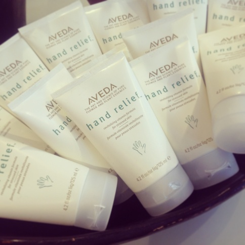 AVEDA Hand Relief - the best lotion ever invented!