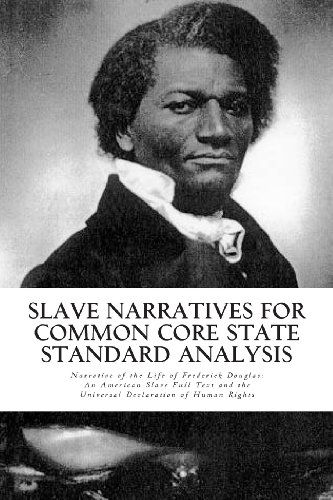 an analysis of freedom and slavery in the narrative of the life of frederick douglass In 1845 frederick douglass published what was to be the first of his three autobiographies: the narrative of the life of frederick douglass, an american slave, written by himself.