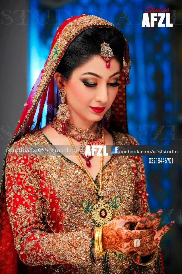 Pretty Pakistani bride