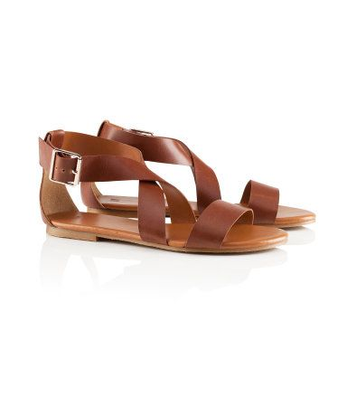 Strappy Sandals #r29summerstyle