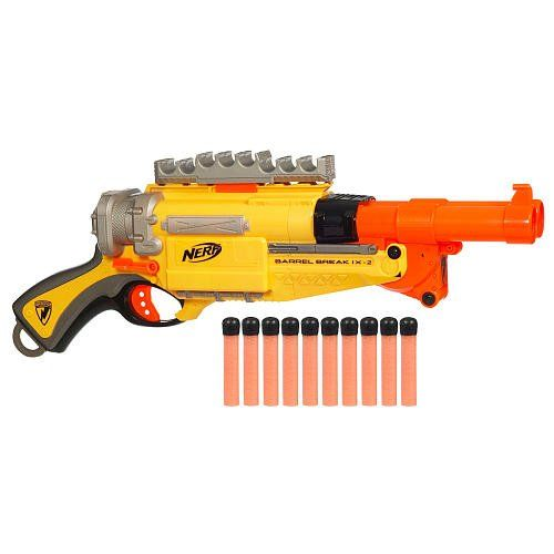 Nerf Zombie Strike SlingFire Blaster Rifle Gun with 25 Dart Drum and 31  Darts Exclusive Limited Edition--