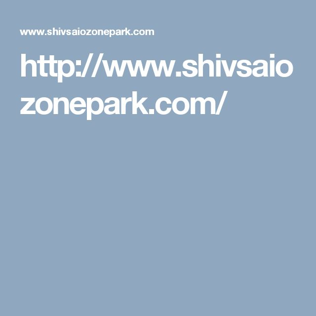 http://www.shivsaiozonepark.com/