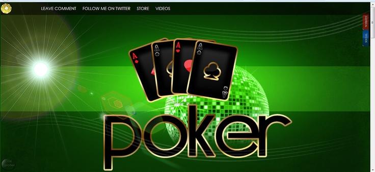 MyFreeCams design Poker Style