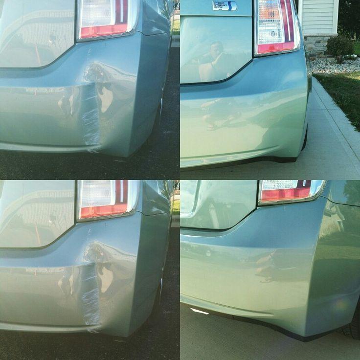 Prius Plastic Bumper Dent Repair