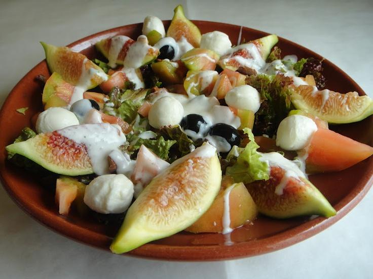 salada de figos...