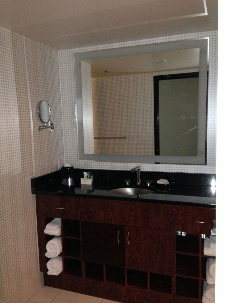 elara hilton grand vacations center strip junior suite bathroom vanity bathroom vanitieslas vegasvacations