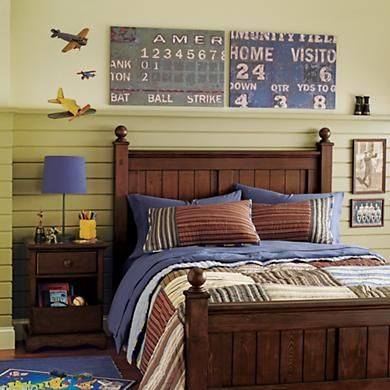 Like The Bedding Kids Posters Prints Art Vintage Baseball Scoreboard Wall In All