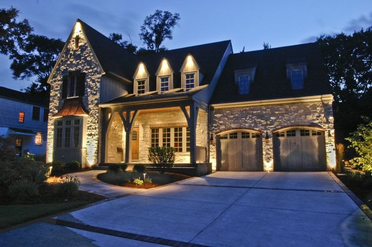 17 best images about house down lighting on pinterest for Exterior home lighting design