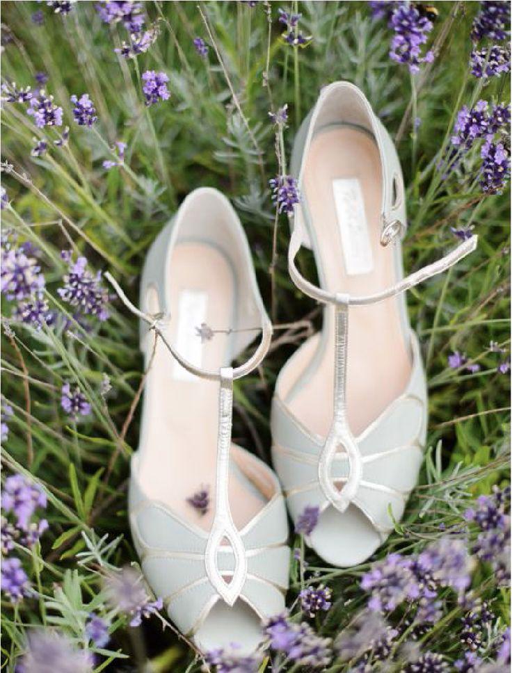 Mariage - Chaussures Rachel Simpson : Mimosa, vert menthe