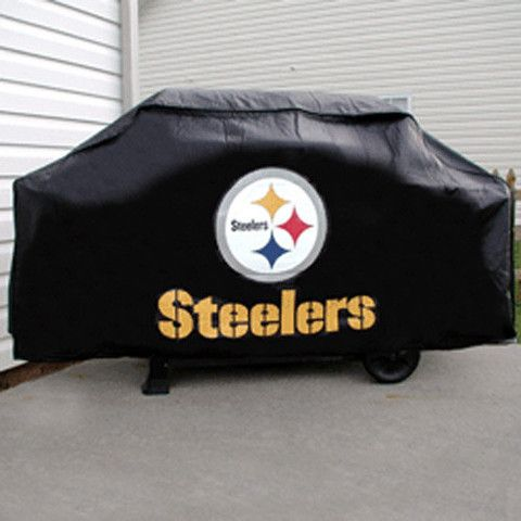pittsburgh steelers nfl economy barbeque grill cover pittsburgh steelers gear pinterest. Black Bedroom Furniture Sets. Home Design Ideas