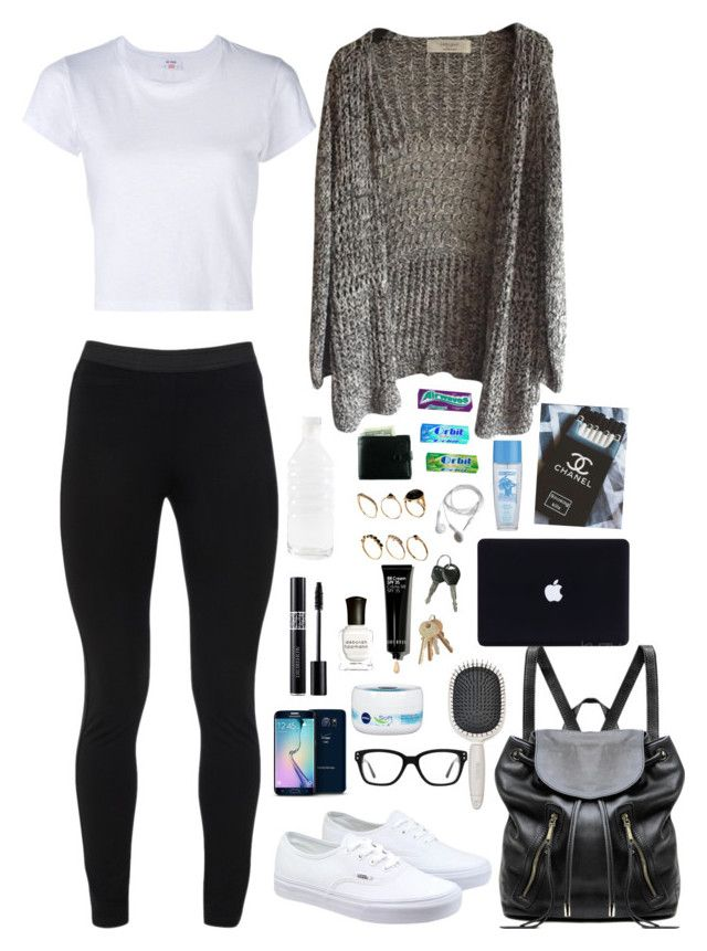 """Untitled #130"" by dobrovicovabarbora on Polyvore featuring RE/DONE, Peace of Cloth, Vans, Samsung, Converse, Christian Dior, Linea Pelle, Nivea, Earth Therapeutics and Deborah Lippmann"