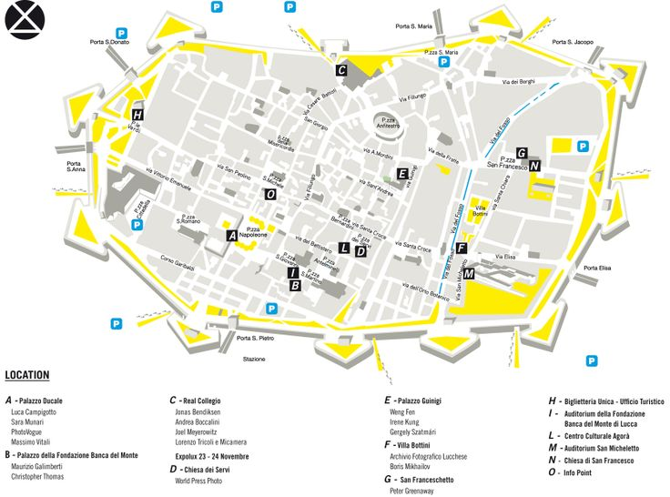 PHOTOLUX FESTIVAL'S MAP: Locations