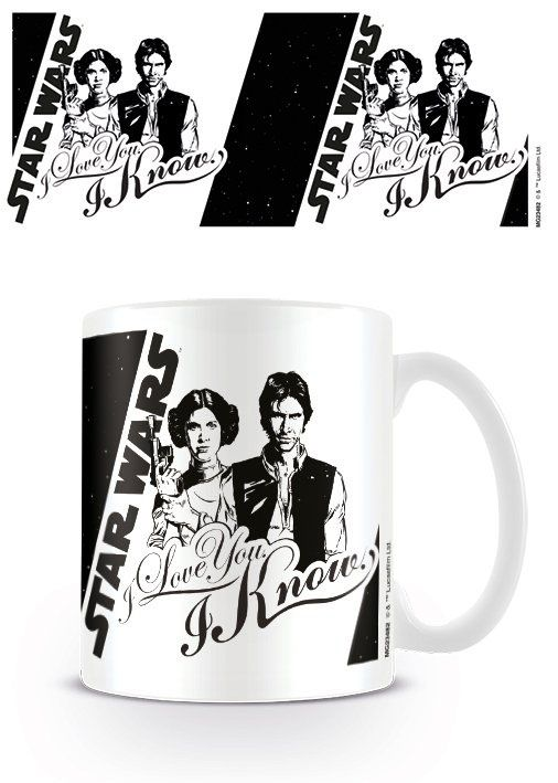 🌟NEW : Mug I Love You / I Know ➡ http://ow.ly/VCV9302nLCL ✔ en stock / expédié en 24h / 11.90€ / Dispo en 1h sur Paris  Love'n geek ! #StarWars