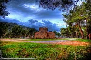 Castle on Cranae Island by ~nico-eos1 on deviantART