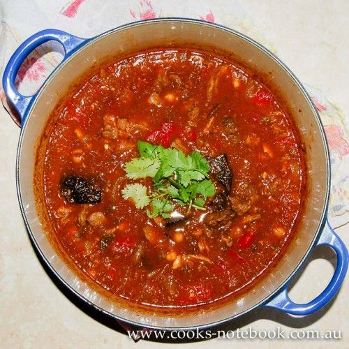 Let's lunch: lamb and harissa stew