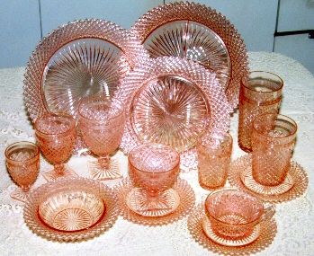 Miss America Depression Glass by Anchor Hocking