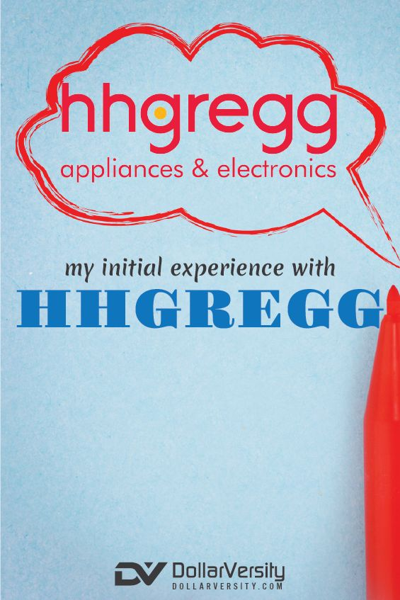 This is a review of hhgregg, an electronics retailer that I had never heard of before they moved into my neighborhood. I'm glad that I read the review before shopping there, so that I was more aware of what to expect. I'm glad there are choices, but I agree that they need to work out a few more kinks in their business. If you're shopping for a new laptop or sound system, check out their prices. via @EricNisall