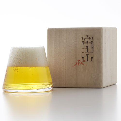 Fujiyama Glass by Sugahara