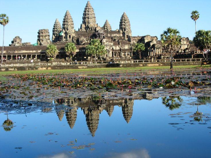 Angkor Wat, Kambodża | Zdjęcia: Angkor Wat, Angkor, Landszafcik, KAMBODżA