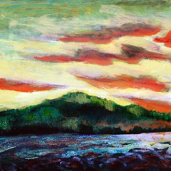 Evening Silhouette by Dennis Weber of ShreddyStudio