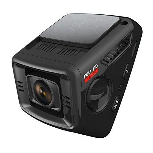ITRUE X6D Dual Car Dash Cam Pro Stealth Full-HD 1080P 170Wide Angle Night Mode G-Sensor WDR 16GB MicroSD Card and Hard Wire Kit