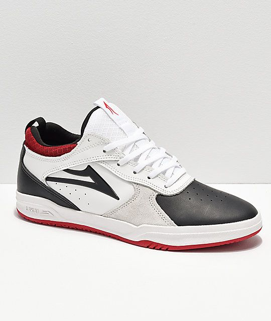 5848191d920 Lakai Tony Hawk Proto White   Black Skate Shoes in 2019