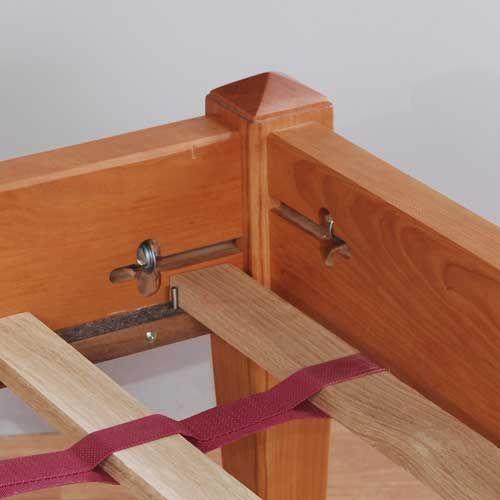 platform bed hardware