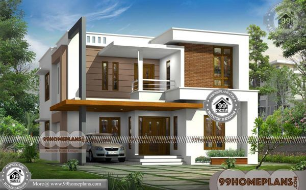 House Design Plan Elevation 80 Two Story Small House Floor Plans Indian House Plans 2 Storey House Design Home Design Plans