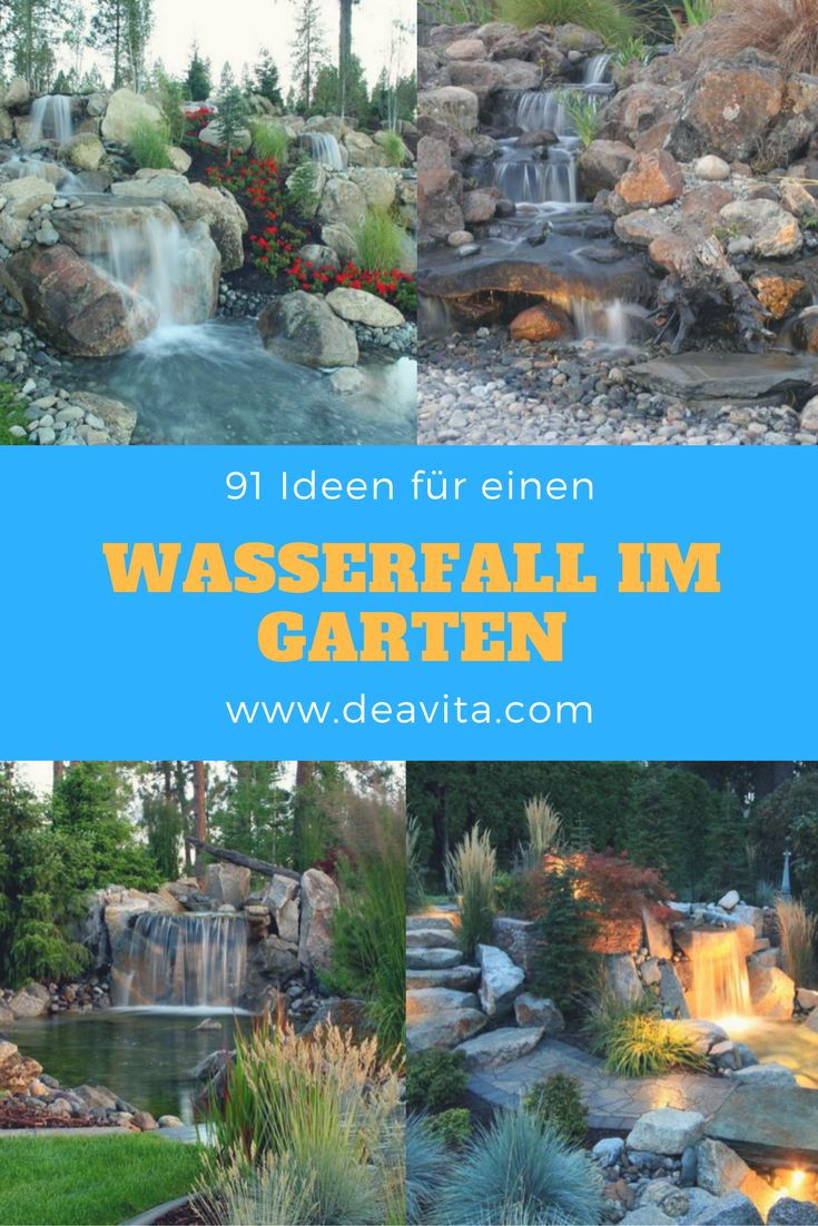 25 best ideas about wasserfall im garten on pinterest gartenteich bauen balkon brunnen and. Black Bedroom Furniture Sets. Home Design Ideas