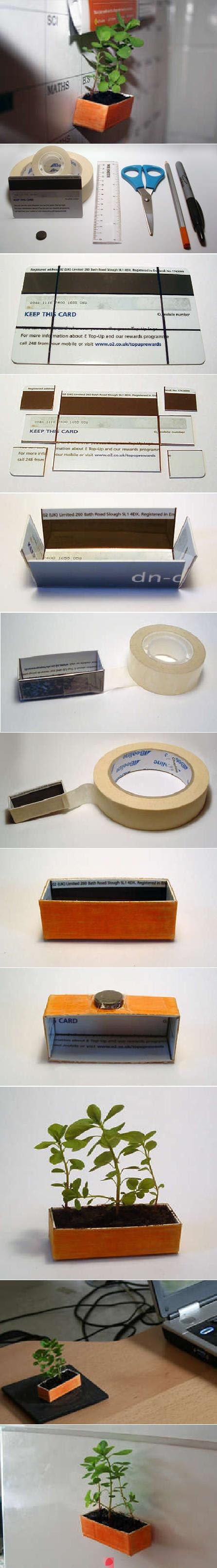 This is a cute idea. I wonder if my school will let me put it in my locker...