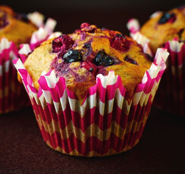 Valentine's Breakfast: Mixed Berry & Cinnamon Muffins | News | Lorraine Pascale
