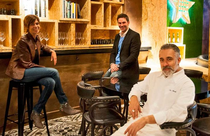 Sara, Josep María y Sergi en el nuevo Vi Cool Jorge Juan