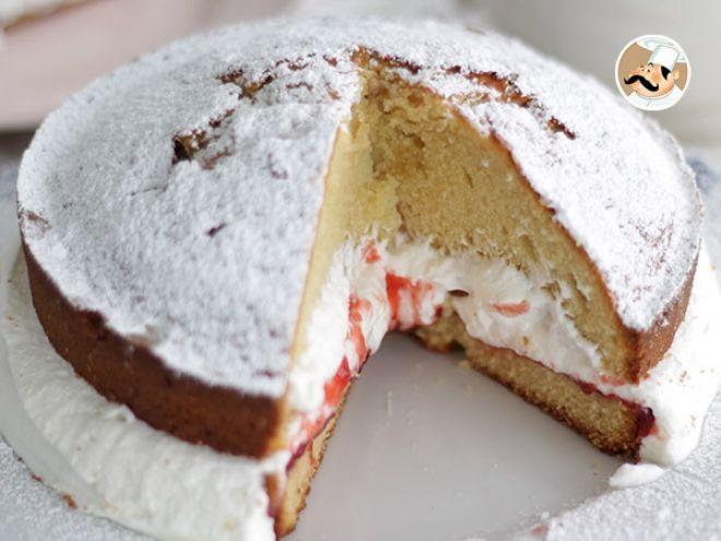 Ricetta Dessert : Victoria sponge cake da Petitchef_IT