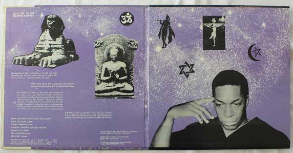 John Coltrane & Alice Coltrane – Cosmic Music OG on Coltrane records