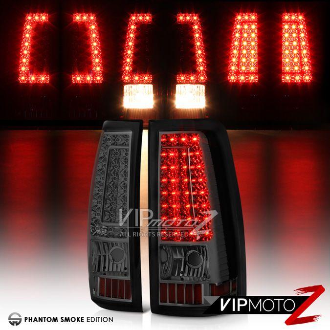 2003-2006-Chevy-Silverado-PickUp-SMOKE-Rear-LED-Tail-Light-Brake-Lamp-Assembly