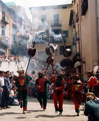 La Patúm - Berga  Festa tradicional, correfocs i petardos...