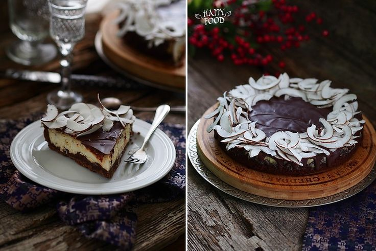 Кокосовый чизкейк с шоколадом (готовлю с техникой Gorenje) - HAPPYFOOD